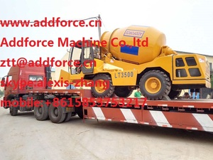 ADDFORCE self loading concrete mixer, No.1 QUALITY from China