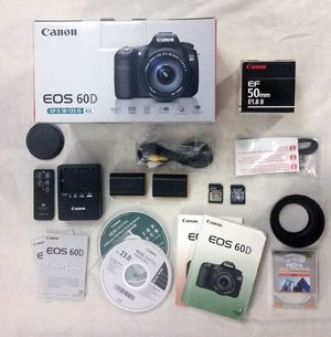 Canon EOS 60D 18.0 MP с объективом EF-50mm
