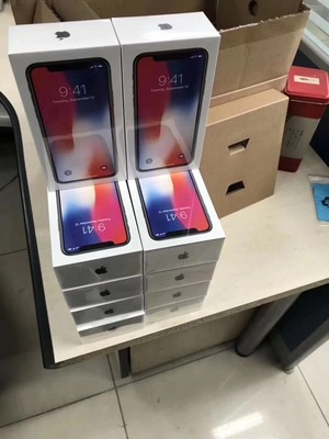 ORIGINAL, BRAND NEW APPLE IPHONE X, 8, 8PLUS  SAMSUNG GALAXY S8